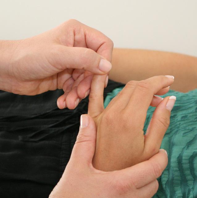PBA acupressure doigt